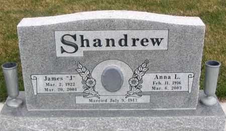 SHANDREW, ANNA L. - Cache County, Utah | ANNA L. SHANDREW - Utah Gravestone Photos