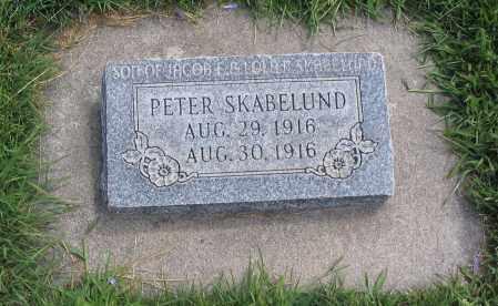 SKABELUND, PETER - Cache County, Utah   PETER SKABELUND - Utah Gravestone Photos