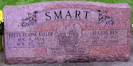 KELLER SMART, BETTY ELAINE - Cache County, Utah | BETTY ELAINE KELLER SMART - Utah Gravestone Photos