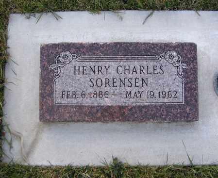 SORENSEN, HENRY CHARLES - Cache County, Utah   HENRY CHARLES SORENSEN - Utah Gravestone Photos