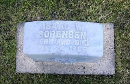 SORENSEN, ISAAC W. - Cache County, Utah | ISAAC W. SORENSEN - Utah Gravestone Photos