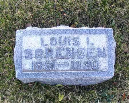 SORENSEN, LOUIS I. - Cache County, Utah | LOUIS I. SORENSEN - Utah Gravestone Photos