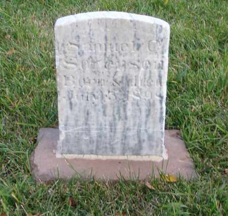 SORENSEN, SAMUEL C. - Cache County, Utah | SAMUEL C. SORENSEN - Utah Gravestone Photos
