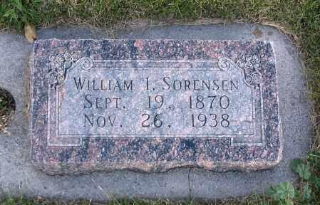 SORENSEN, WILLIAM I. - Cache County, Utah | WILLIAM I. SORENSEN - Utah Gravestone Photos
