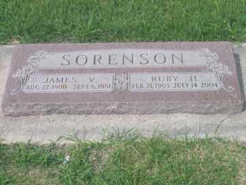 HANSEN SORENSON, RUBY - Cache County, Utah | RUBY HANSEN SORENSON - Utah Gravestone Photos