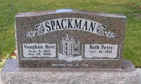 SPACKMAN, RUTH - Cache County, Utah | RUTH SPACKMAN - Utah Gravestone Photos
