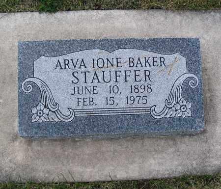 BAKER, ARVA IONE - Cache County, Utah | ARVA IONE BAKER - Utah Gravestone Photos