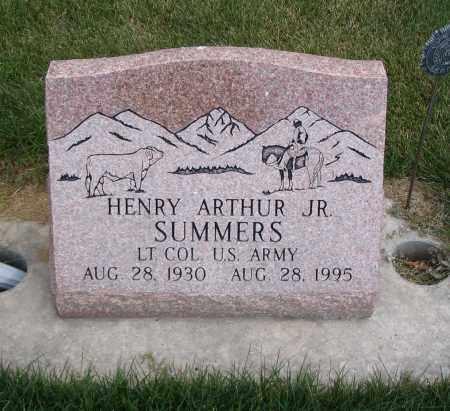 SUMMERS, HENRY ARTHUR JR. - Cache County, Utah | HENRY ARTHUR JR. SUMMERS - Utah Gravestone Photos