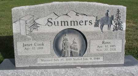SUMMERS, ROSS - Cache County, Utah | ROSS SUMMERS - Utah Gravestone Photos
