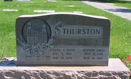 THURSTON, ETHLYN A. - Cache County, Utah | ETHLYN A. THURSTON - Utah Gravestone Photos