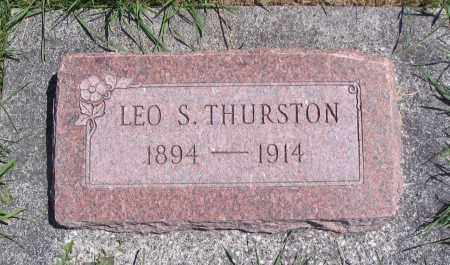THURSTON, LEO S. - Cache County, Utah | LEO S. THURSTON - Utah Gravestone Photos