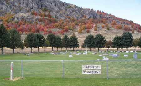 TRENTON CEMETERY, VIEW FROM HIGHWAY 23 - Cache County, Utah | VIEW FROM HIGHWAY 23 TRENTON CEMETERY - Utah Gravestone Photos