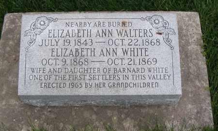 WHITE, ELIZABETH ANN - Cache County, Utah | ELIZABETH ANN WHITE - Utah Gravestone Photos
