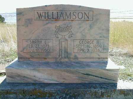 WILLIAMSON, SARAH ANN - Cache County, Utah | SARAH ANN WILLIAMSON - Utah Gravestone Photos