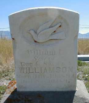 WILLIAMSON, WILLIAM LINDLEY - Cache County, Utah   WILLIAM LINDLEY WILLIAMSON - Utah Gravestone Photos
