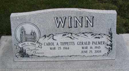 WINN, GERALD PALMER - Cache County, Utah | GERALD PALMER WINN - Utah Gravestone Photos