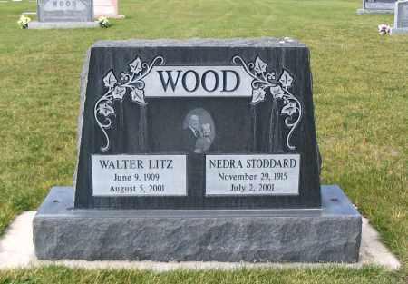 WOOD, NEDRA - Cache County, Utah | NEDRA WOOD - Utah Gravestone Photos