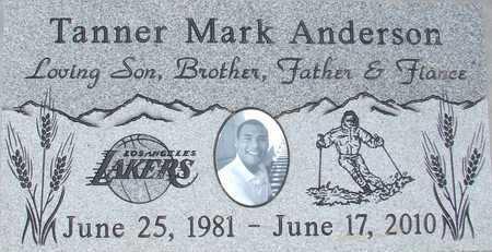 ANDERSON, TANNER MARK - Davis County, Utah | TANNER MARK ANDERSON - Utah Gravestone Photos