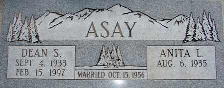 ASAY, DEAN S. - Davis County, Utah   DEAN S. ASAY - Utah Gravestone Photos