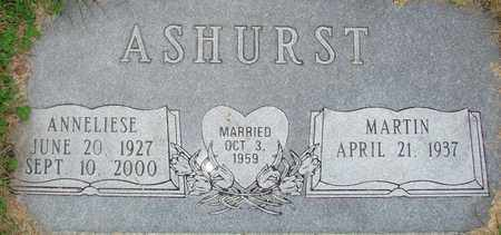 ASHURST, ANNELIESE - Davis County, Utah | ANNELIESE ASHURST - Utah Gravestone Photos
