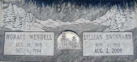 SWINYARD BAIR, LILLIAN - Davis County, Utah | LILLIAN SWINYARD BAIR - Utah Gravestone Photos