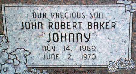 BAKER, JOHN ROBERT - Davis County, Utah | JOHN ROBERT BAKER - Utah Gravestone Photos