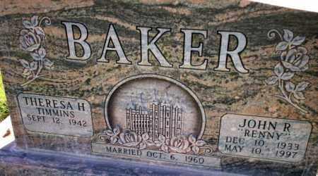 BAKER, JOHN REYNOLD, JR. - Davis County, Utah | JOHN REYNOLD, JR. BAKER - Utah Gravestone Photos