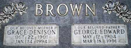 BROWN, GEORGE EDWARD - Davis County, Utah | GEORGE EDWARD BROWN - Utah Gravestone Photos