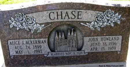 ACKERMAN CHASE, ALICE JEAN - Davis County, Utah | ALICE JEAN ACKERMAN CHASE - Utah Gravestone Photos