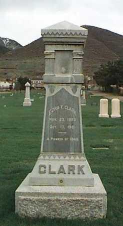 CLARK, EZRA THOMPSON - Davis County, Utah   EZRA THOMPSON CLARK - Utah Gravestone Photos