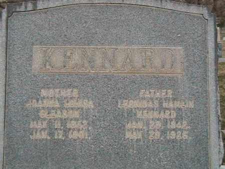 KENNARD, JOANNA LOUISA - Davis County, Utah | JOANNA LOUISA KENNARD - Utah Gravestone Photos