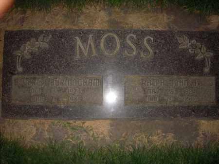 MOSS, BEVERLY - Davis County, Utah   BEVERLY MOSS - Utah Gravestone Photos