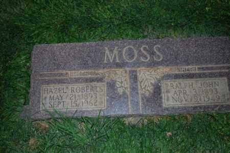 MOSS, HAZEL - Davis County, Utah | HAZEL MOSS - Utah Gravestone Photos