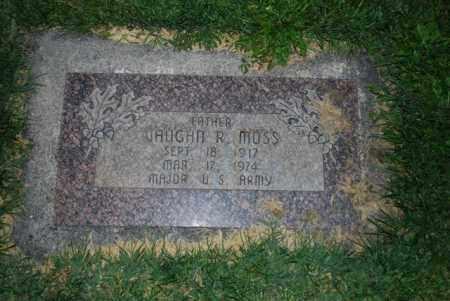 MOSS, VAUGHN R - Davis County, Utah | VAUGHN R MOSS - Utah Gravestone Photos