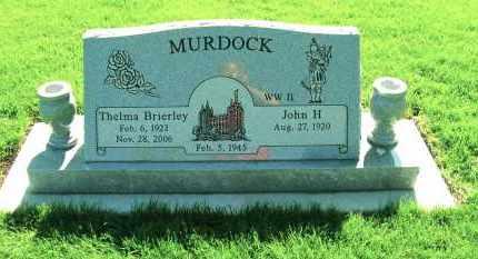 BRIERLEY MURDOCK, THELMA - Davis County, Utah | THELMA BRIERLEY MURDOCK - Utah Gravestone Photos