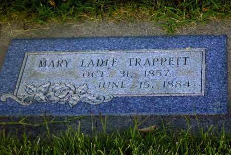 LADLE TRAPPETT, MARY - Davis County, Utah | MARY LADLE TRAPPETT - Utah Gravestone Photos