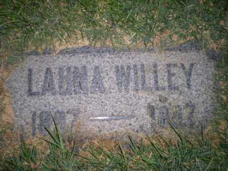 WILLEY, LAUNA - Davis County, Utah   LAUNA WILLEY - Utah Gravestone Photos