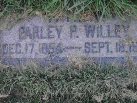 WILLEY, PARLEY P - Davis County, Utah   PARLEY P WILLEY - Utah Gravestone Photos