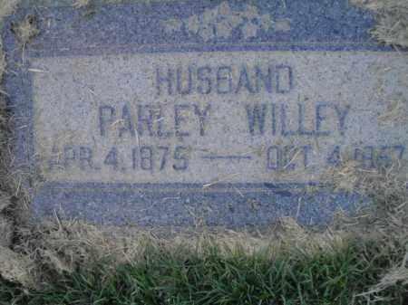 WILLEY, PARLEY - Davis County, Utah | PARLEY WILLEY - Utah Gravestone Photos