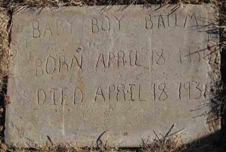 BAUM, BABY BOY - Duchesne County, Utah | BABY BOY BAUM - Utah Gravestone Photos