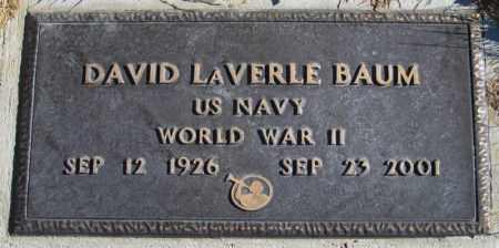 BAUM, DAVID LAVERLE - Duchesne County, Utah | DAVID LAVERLE BAUM - Utah Gravestone Photos