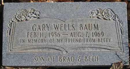 BAUM, GARY WELLS - Duchesne County, Utah   GARY WELLS BAUM - Utah Gravestone Photos