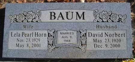 HORN BAUM, LELA PEARL - Duchesne County, Utah | LELA PEARL HORN BAUM - Utah Gravestone Photos
