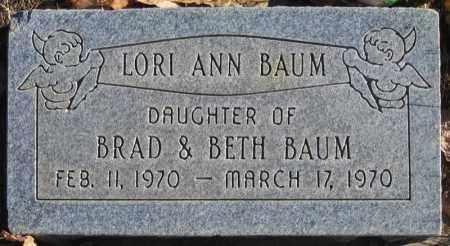 BAUM, LORI ANN - Duchesne County, Utah   LORI ANN BAUM - Utah Gravestone Photos