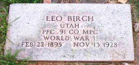 BIRCH, LEO - Duchesne County, Utah | LEO BIRCH - Utah Gravestone Photos
