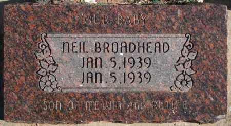BROADHEAD, NEIL - Duchesne County, Utah | NEIL BROADHEAD - Utah Gravestone Photos