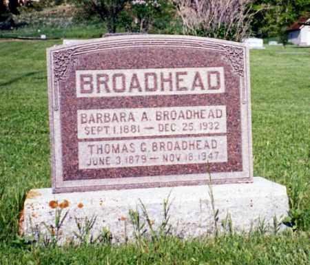 BROADHEAD, THOMAS GOLDEN - Duchesne County, Utah | THOMAS GOLDEN BROADHEAD - Utah Gravestone Photos
