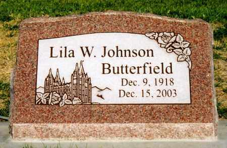 BUTTERFIELD, LILA WINNIFRED - Duchesne County, Utah | LILA WINNIFRED BUTTERFIELD - Utah Gravestone Photos