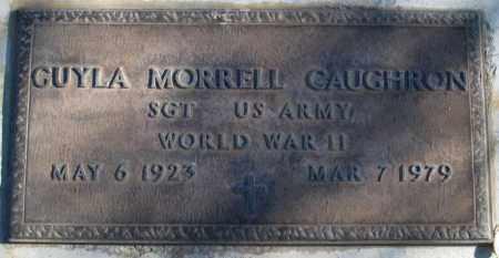MORRELL CAUGHRON (WWII), GUYLA - Duchesne County, Utah | GUYLA MORRELL CAUGHRON (WWII) - Utah Gravestone Photos