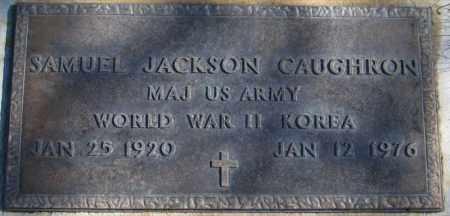 CAUGHRON (KOR), SAMUEL JACKSON - Duchesne County, Utah | SAMUEL JACKSON CAUGHRON (KOR) - Utah Gravestone Photos